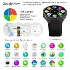Kingwear KW88 Bluetooth Smartwatch Watchphone Wifi 3G GPS - nero