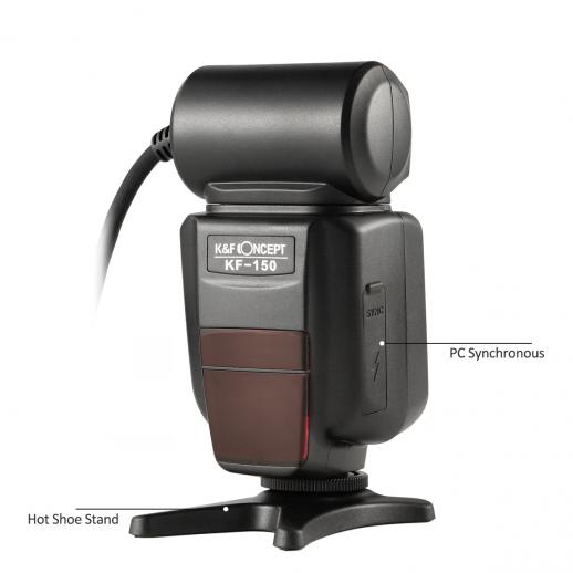 KF150 TTL Marco Ring Flash for Canon EOS Rebel GN14